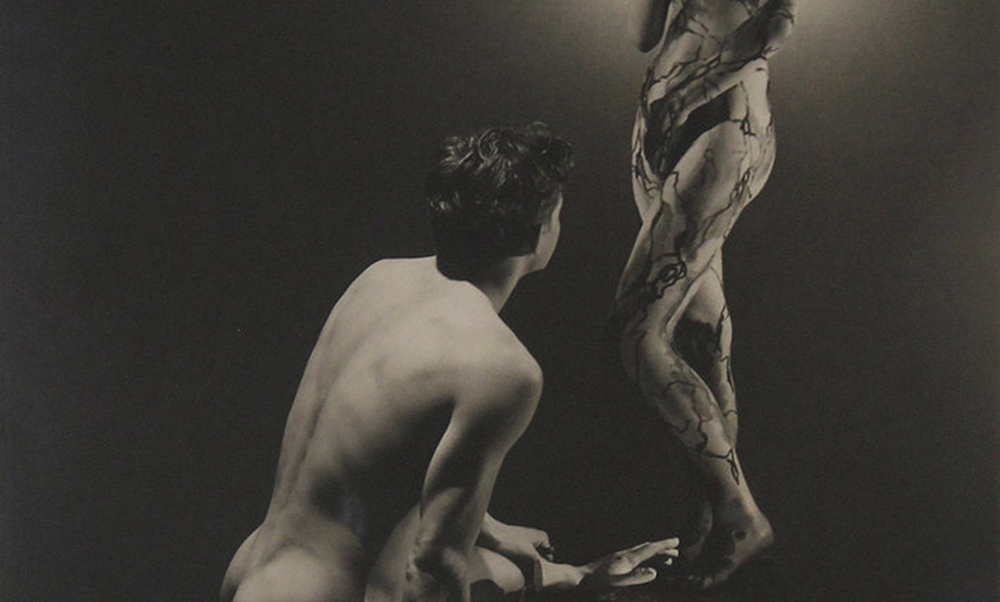 Detail from a photograph by George Platt Lynes