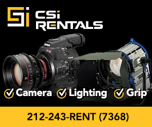 SHARPEN is sponsored by CSI Rentals