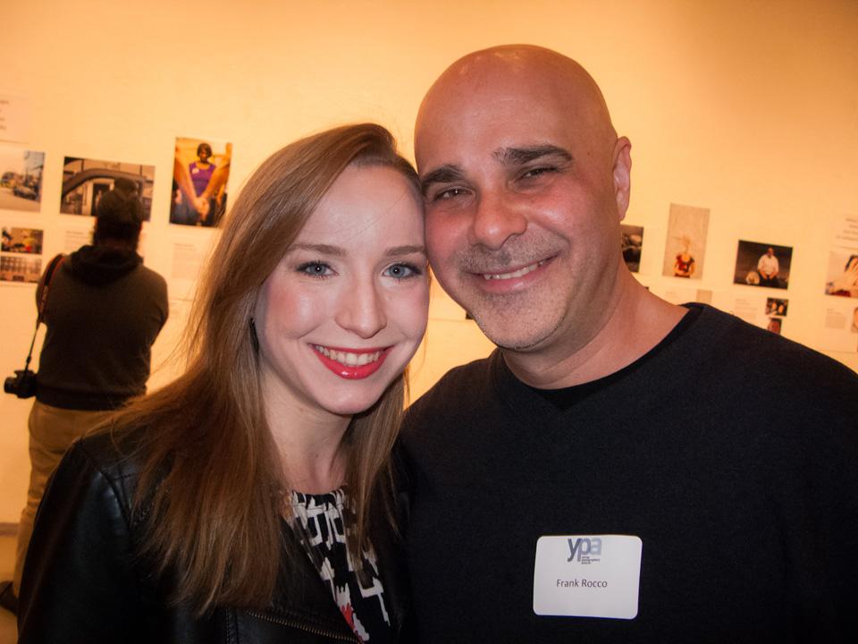 Left to right:  Alyssa Meadows, Frank Rocco