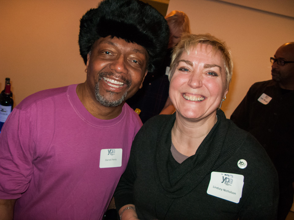 Left to right:  Darrell Perry, Lindsey Nicholson