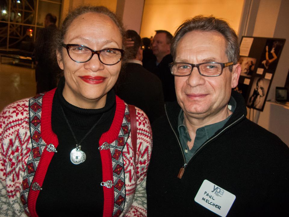 Right:  Paul Melcher