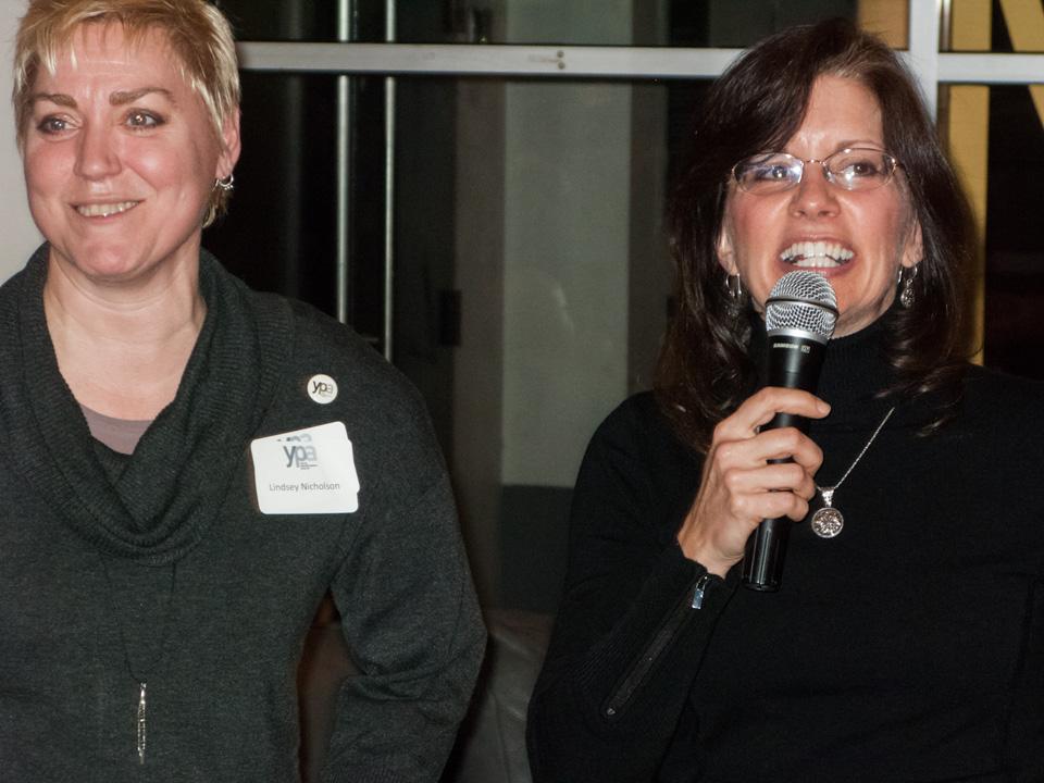 Left to right: Lindsey Nicholson, Deborah Free