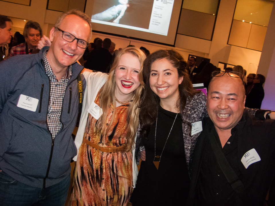Left to right: Paul Eekhoff, Katie Doyle, Julia Samson, Nation Wong