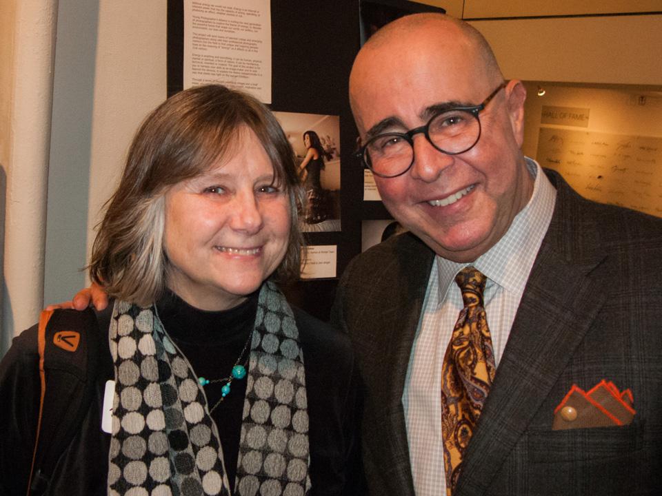 Left to right: Jill Waterman, Eugene Mopsik