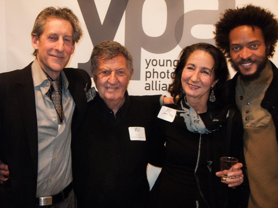 Second from left: Jerry Tavin and Janou Pakter