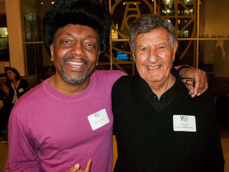 Left to right: Darrell Perry, Jerry Tavin