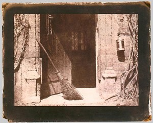 Henry Fox Talbot, salt print, The Open Door, 1844